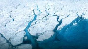 el calentamiento global amenaza con la desaparición del hielo de groenlandia