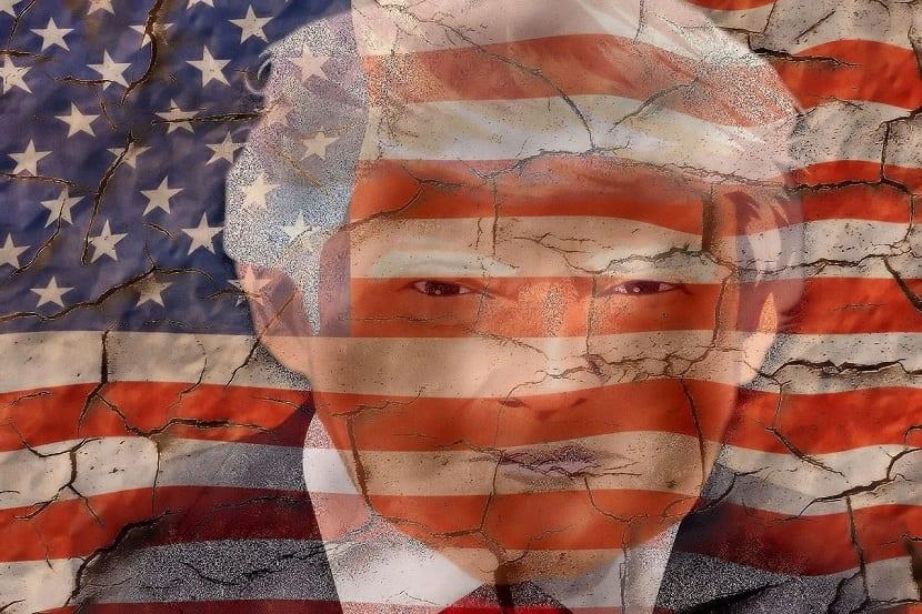 donald trump usa bandera