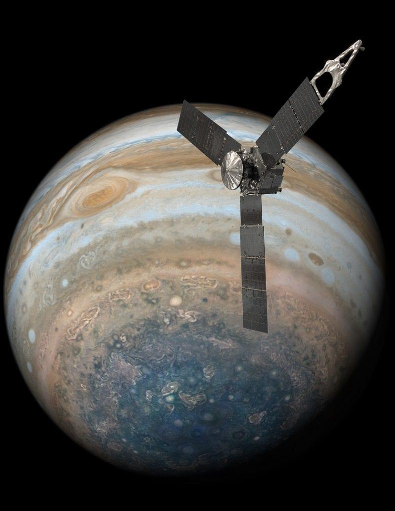 sonda juno Júpiter