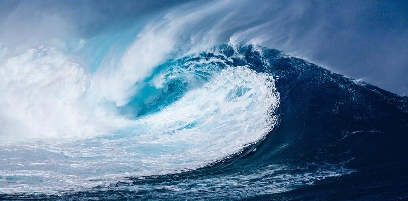 tsunami gran ola de mar