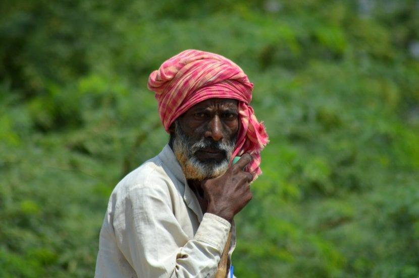 Aldeano de la India