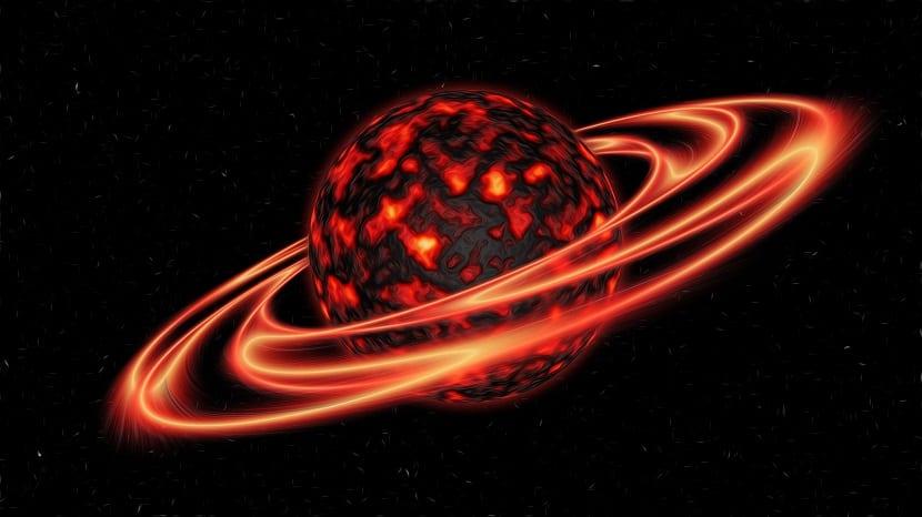 formación planeta Tierra arte