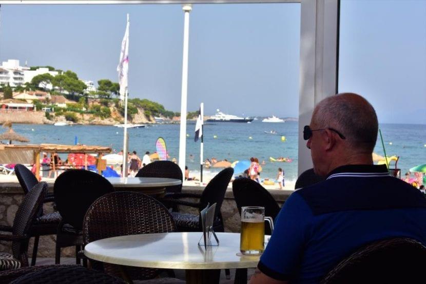 Personas pasando calor en Mallorca