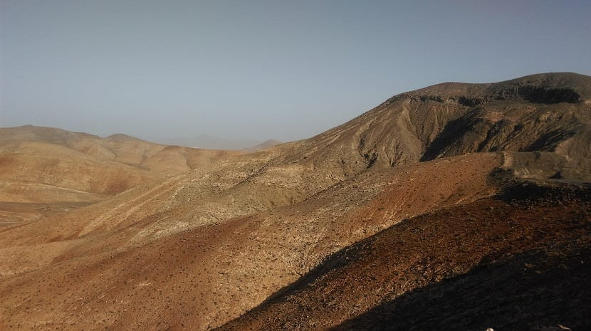 desertificación mediterraneo seco