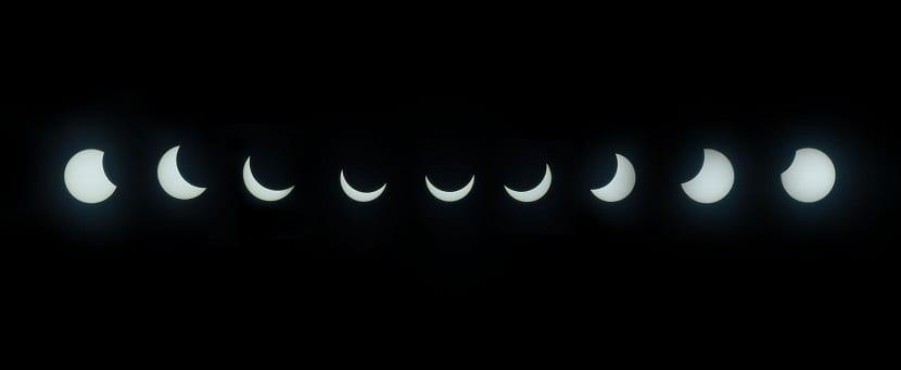eclipse solar montaje