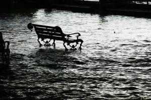 inundación calle