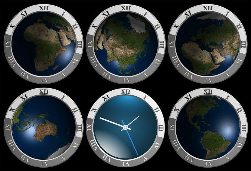 reloj tierra