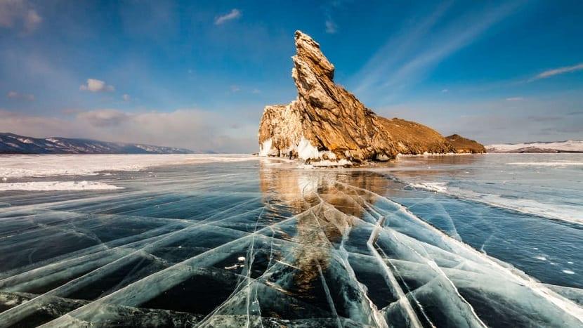 hielo de asia