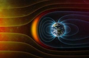 campo magnético geomagnético