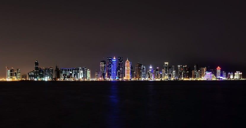 Doha, Qatar, Bahía del Oeste