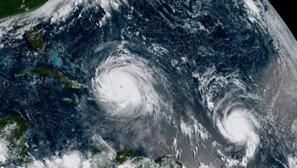 Huracán Irma a su paso por las Islas Vírgenes