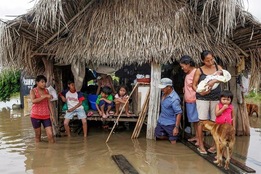 pobreza por el cambio climatico