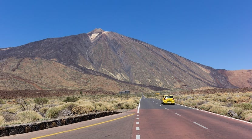 Teide volcán Islas Canarias