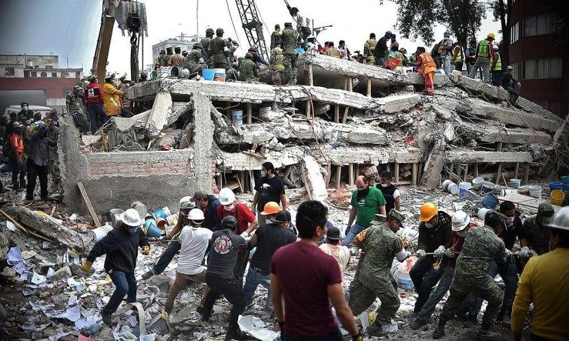 terremoto México septiembre 2017