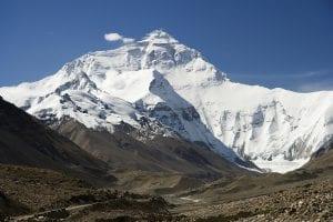 Montaña del Tibet