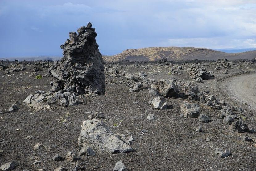 Terreno de Islandia