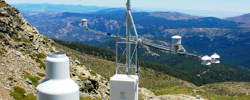 aparatos de medida de meteorologia