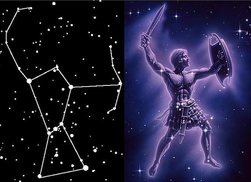 orion constelación