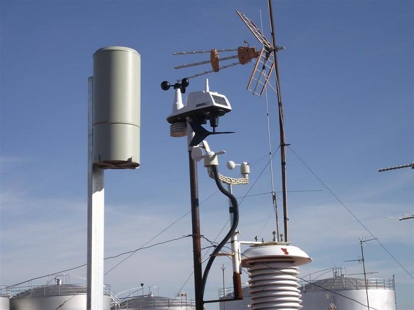 pluviometro mide las precipitaciones