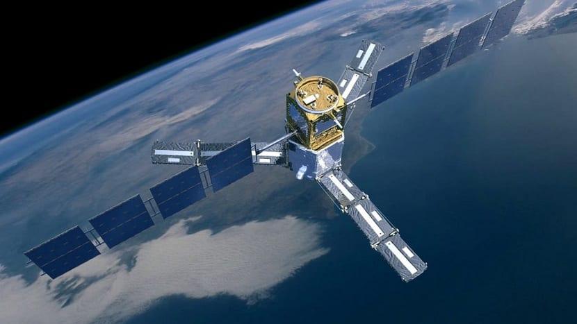 satelites meteorologicos empleados para la observación del tiempo