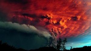 supervolcán volcán