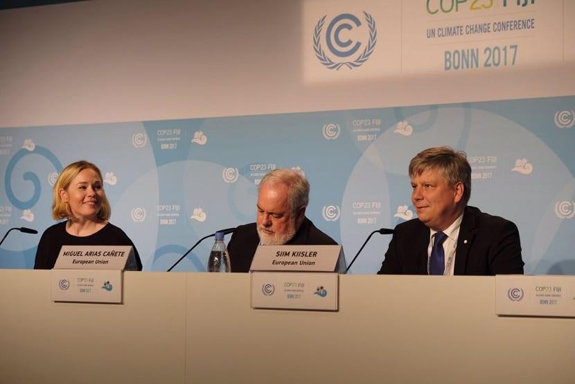 reunion en la cumbre del clima