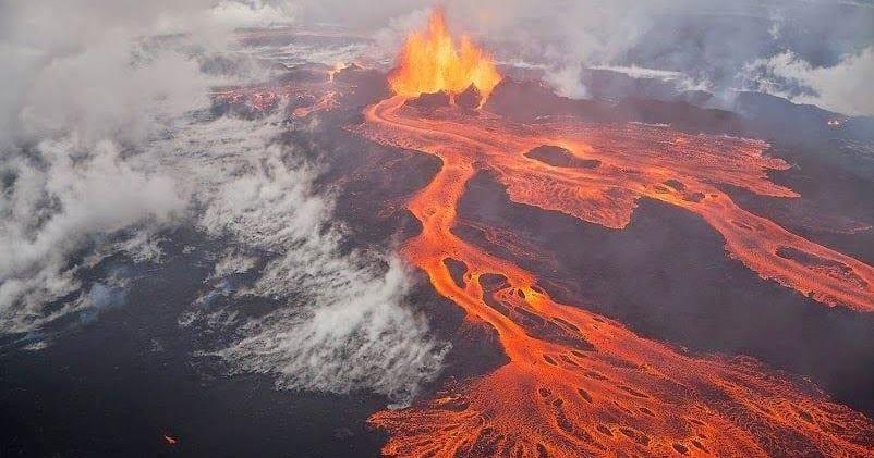volcán Bardarbunga Islandia lava erupción