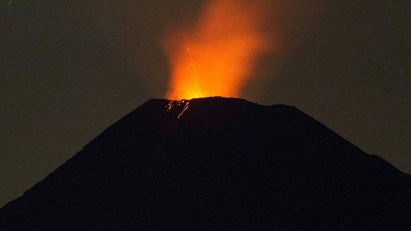 Erupciones estrombolianas