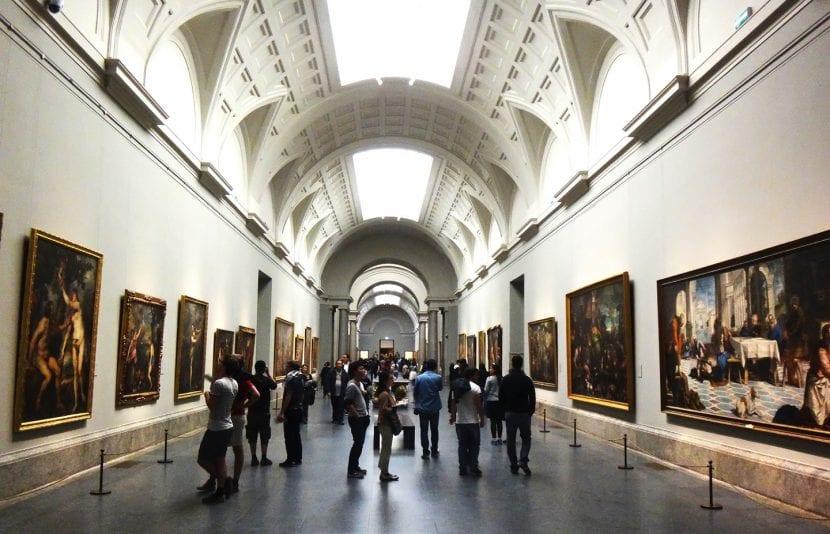 El interior del Museo del Prado