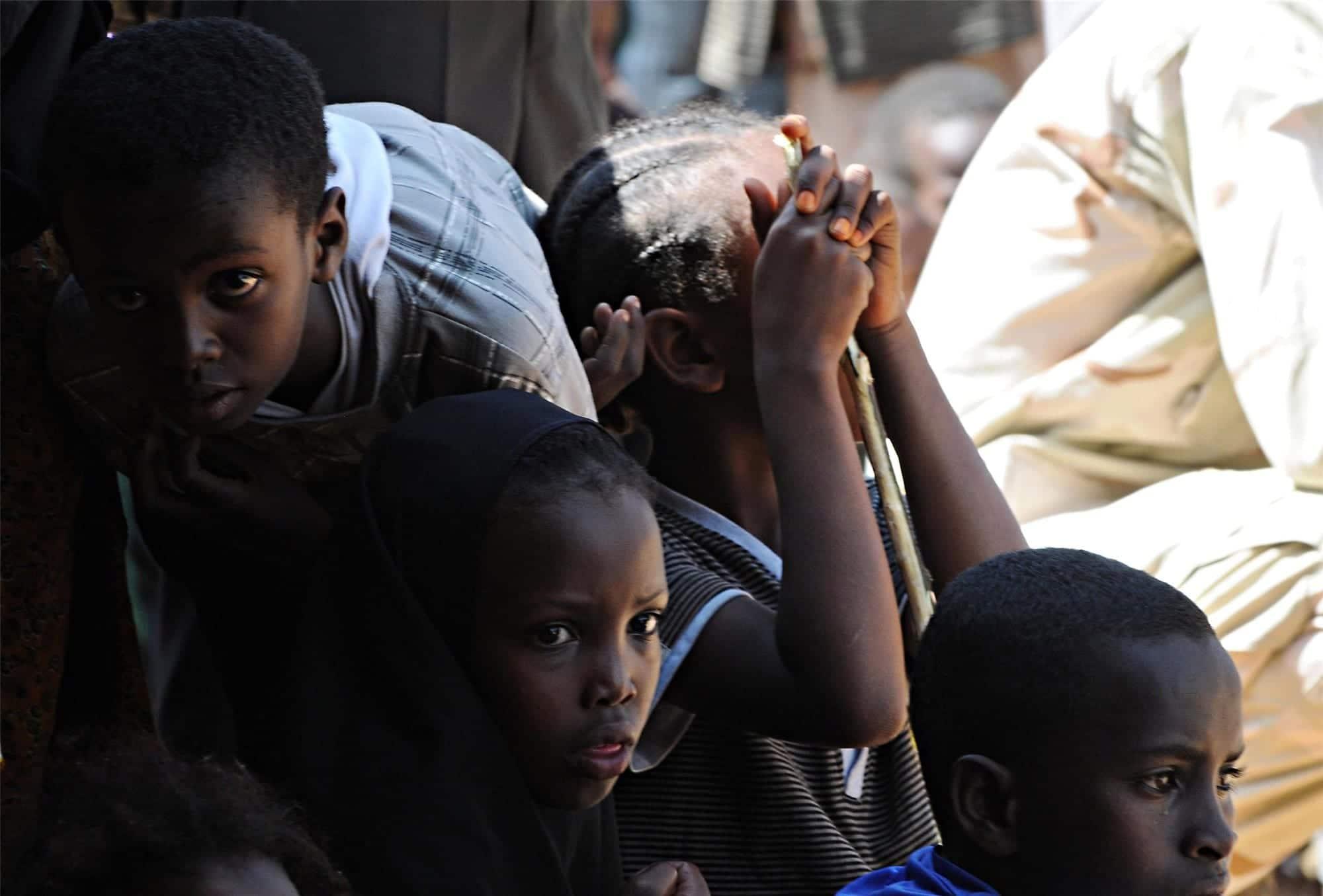 Niños de Mauritania