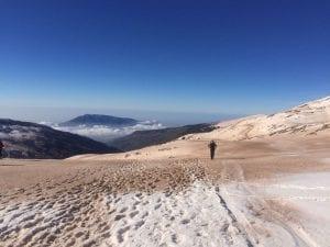sierra nevada y polvo sahariano