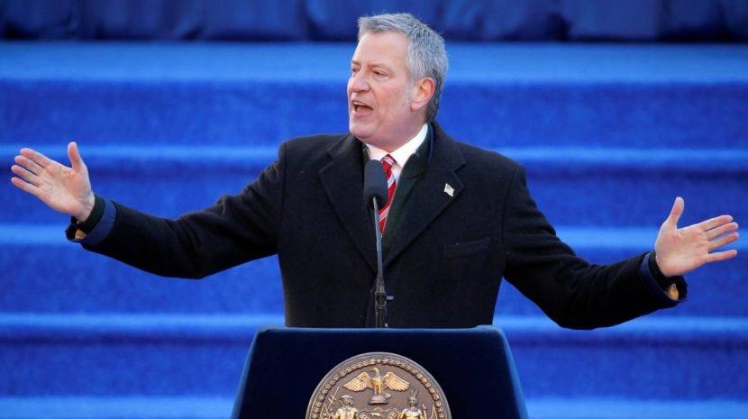 Bill de Plasio, alcalde de Nueva York