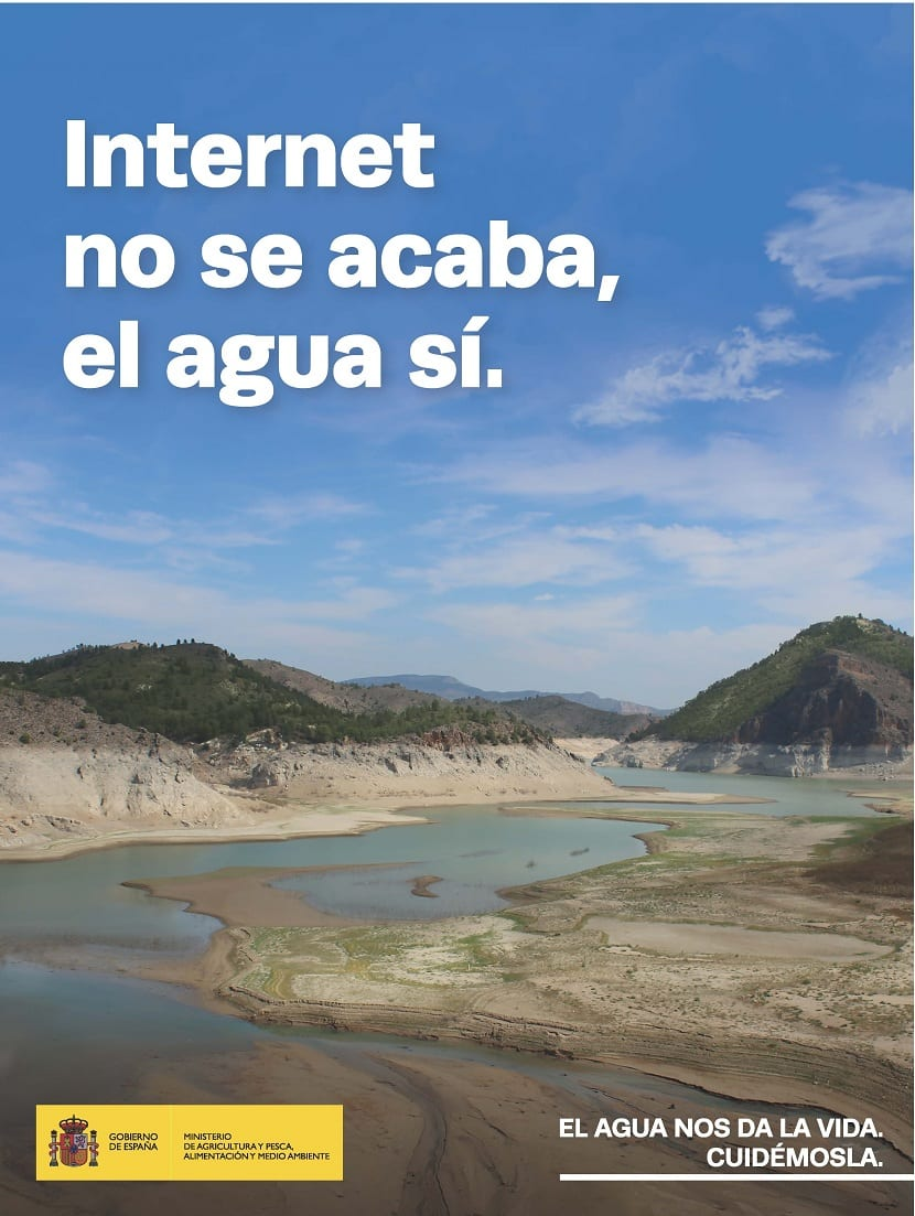 campaña de ahorro de agua