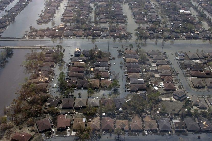 Efectos del huracán Katrina