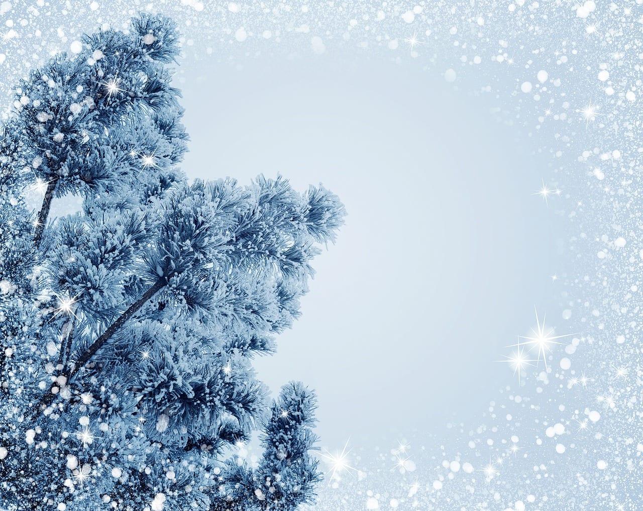 Día de Navidad con nieve