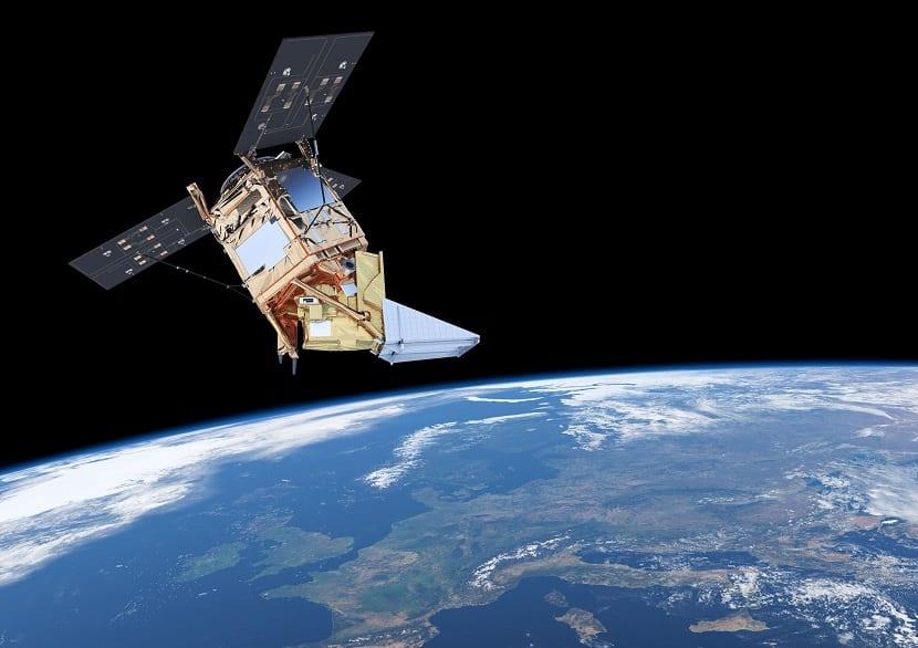satelite sentinel 5P