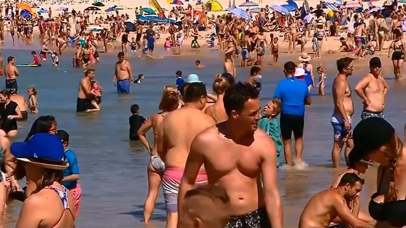 sidney registra una gran ola de calor