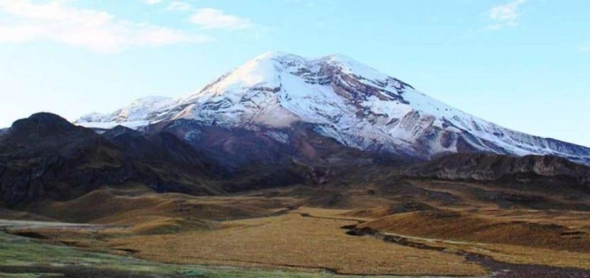 Glaciares de Ecuador en detrimento