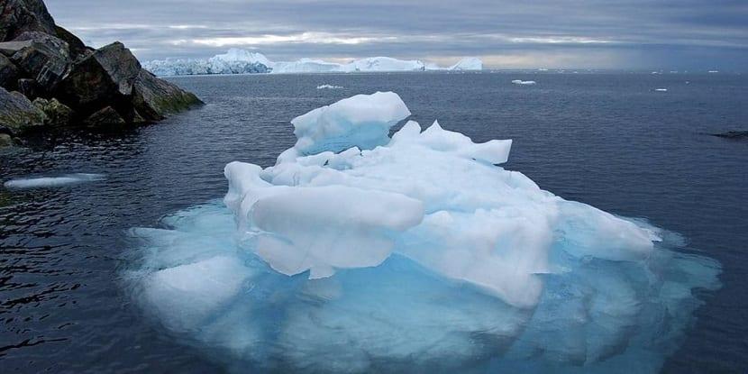 Glaciares derretidos en ecuador