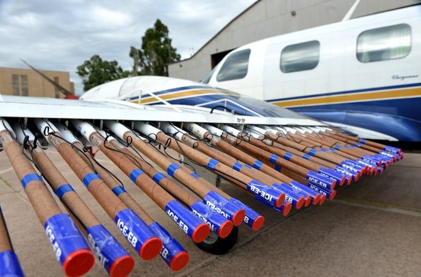 aviones antigranizo