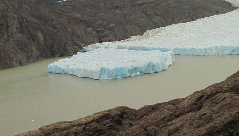 fractura glaciar grey
