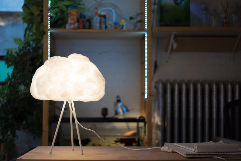 Nube lámpara