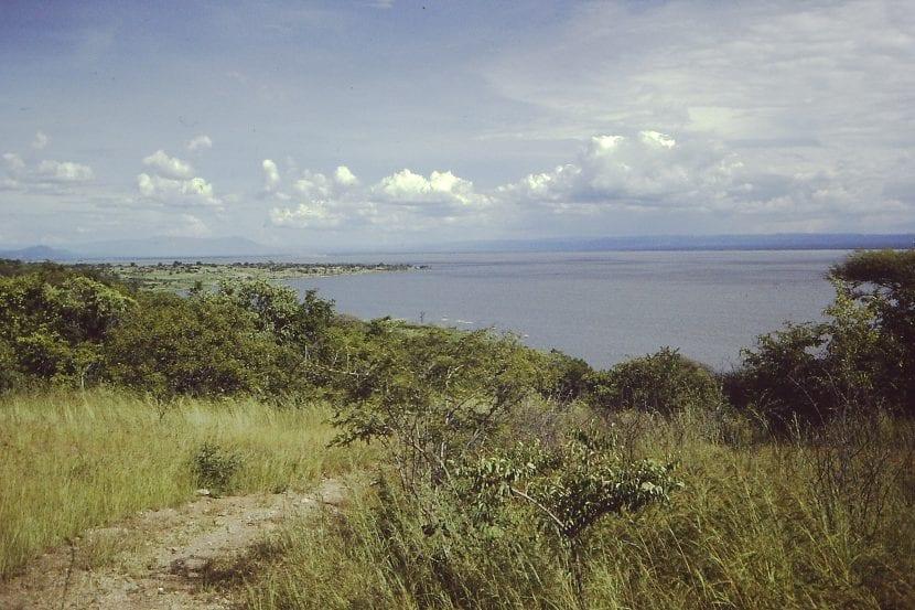 Vista del lago Rukwa
