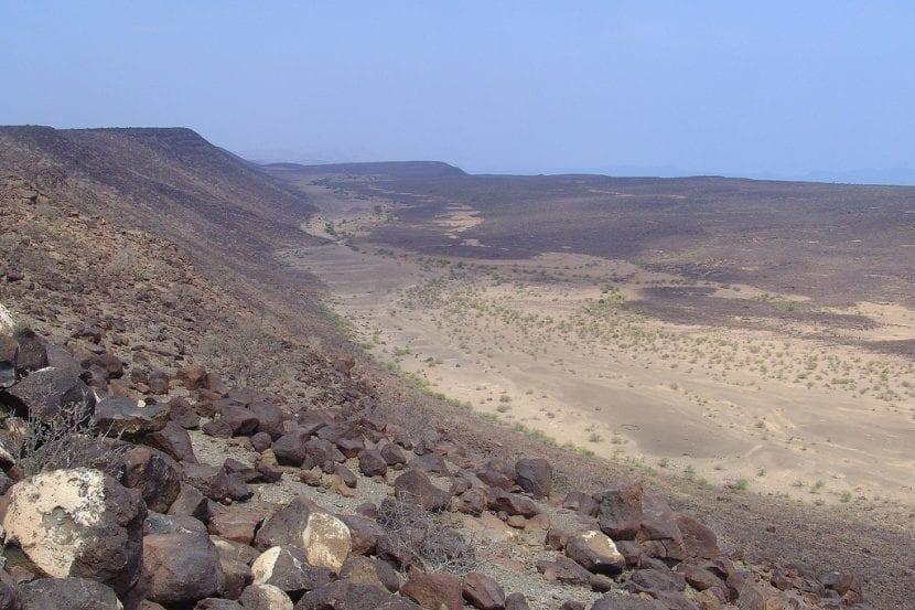 Escarpamiento del valle del Rift