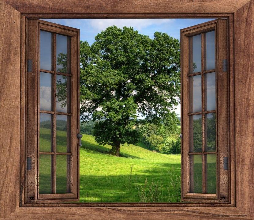 Abre la ventana para que entre el aire