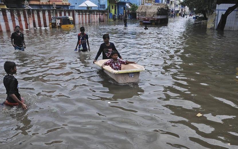 monzon en la India