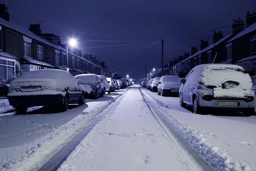 Formación de la nieve