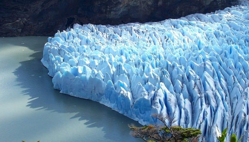 Formaciones de glaciares
