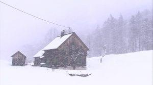 Fuertes vientos y nevadas
