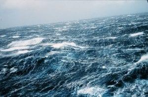 Oleaje en los océanos